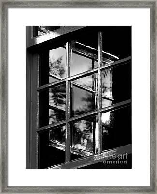 On Reflection Framed Print