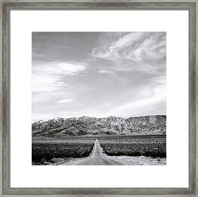 On The Road Framed Print by Shaun Higson