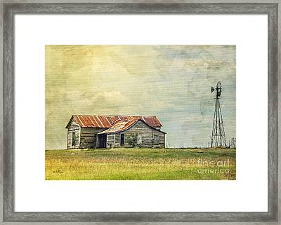 Once Upon A Time Framed Print by Betty LaRue