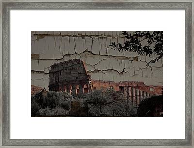 Relic Framed Print by Tom Maimran