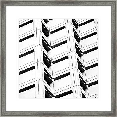 One Brickell Square - Miami Framed Print