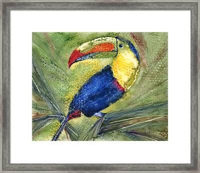 One Cant But Toucan Framed Print by Marsha Elliott