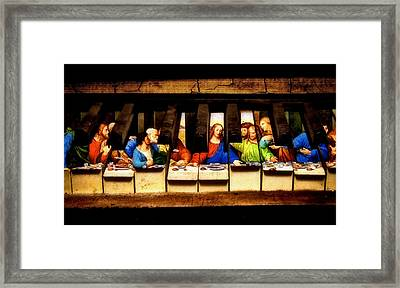 One Last Melody Framed Print by Jared Johnson