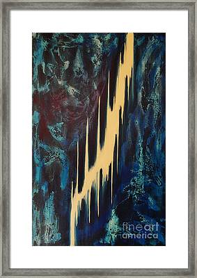 Only One Way Framed Print by Wayne Cantrell