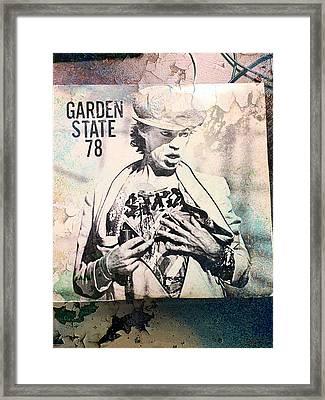 Only Rock N' Roll Framed Print