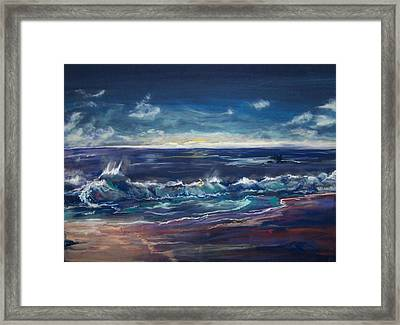 Open Sea Framed Print