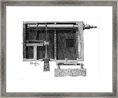 Optical Telegraphy Framed Print by Science Photo Library