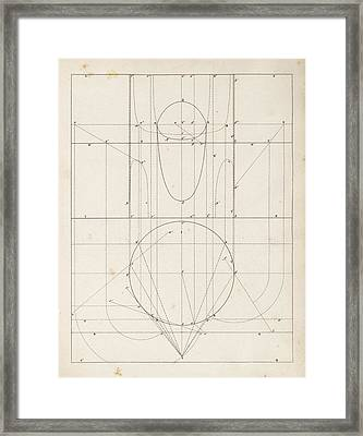 Optical Theories Of Drawing Framed Print by King's College London