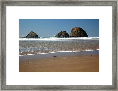 Or, Oceanside Beach State Wayside Framed Print