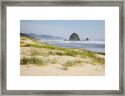 Or, Oregon Coast, Cannon Beach Framed Print