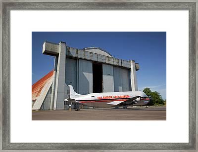 Or, Tillamook, Tillamook Air Museum Framed Print