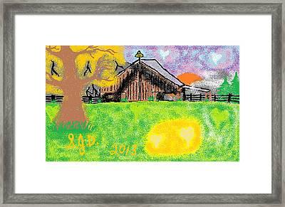 Oregon Framed Print by Joe Dillon