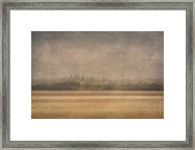 Oregon Rain Framed Print