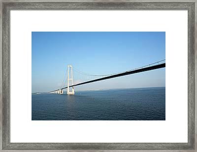 Oresund Bridge Framed Print by Adam Hart-davis