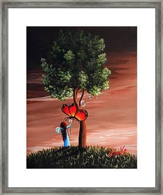 Original Fairy Art  Framed Print