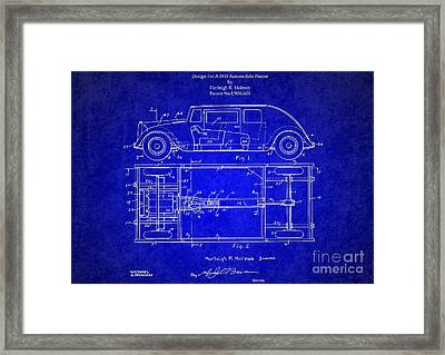 Original Harleigh Holmes Automobile Patent 1932 Framed Print by Doc Braham