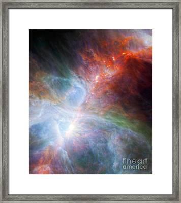 Orion Nebula Framed Print by Science Source