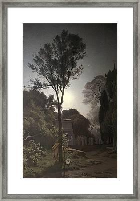 Orpheus Framed Print by Francois Louis Francais