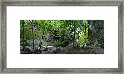 Ottawa Canyon Framed Print by Gary Lobdell