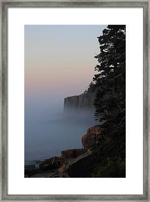 Otter Cliffs 2 Framed Print