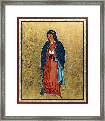 Our Lady Of Guadalupe I Framed Print by Ilse Wefers