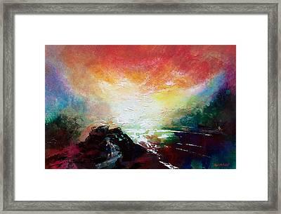 Ouse Walk Framed Print by Neil McBride
