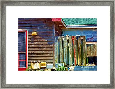 Out To Dry Framed Print by Debbi Granruth