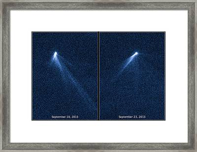 P2013 P5 Asteroid Belt, 2013 Framed Print by Science Source
