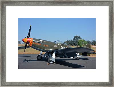 P51 Mustang Speedball Alice Framed Print
