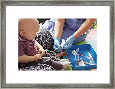Paediatric Brain Tumour Framed Print