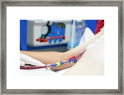 Paediatric Dialysis Department Framed Print by Life In View