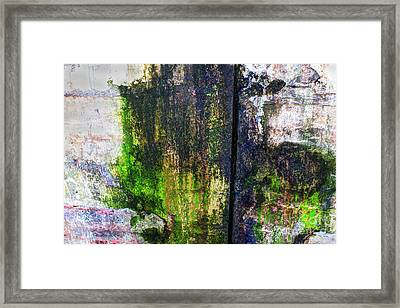 Paint And Rust 33 Framed Print by Jim Wright