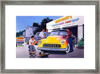 Paint Shop Framed Print by Bruce Kaiser