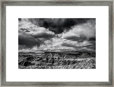 Painted Desert From Lacey Point Framed Print by Jerry Ginsberg
