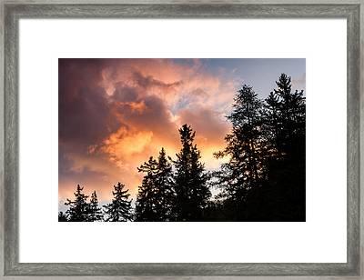 Paints Of Dawn Framed Print by Konstantin Dikovsky