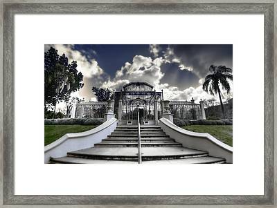 Palm House Framed Print by Wayne Sherriff