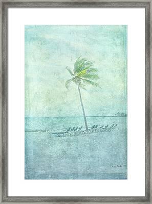 Palm I Framed Print by Ramona Murdock