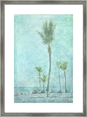 Palm IIi Framed Print by Ramona Murdock