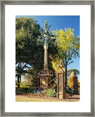 Palmetto Regiment Monument  Framed Print