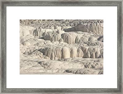 Pamukkale Travertine Terrace Framed Print by David Parker