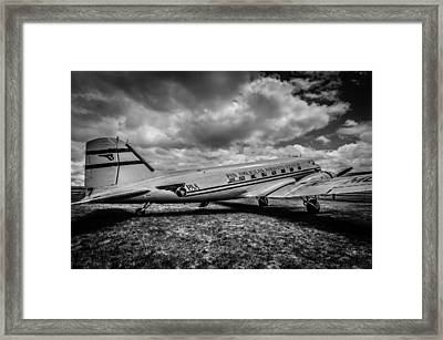 Pan American Airways Dc3 Framed Print by Puget  Exposure