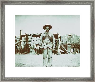 Pancho Villa 1910s Framed Print by Mountain Dreams