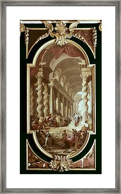 Pannini, Giovanni Paolo 1691-1765 Framed Print by Everett