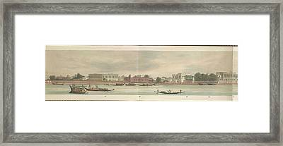 Panorama Of The City Of Dacca Framed Print