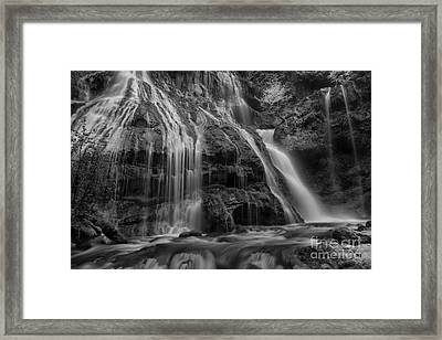 Panther Falls Framed Print by Keith Kapple