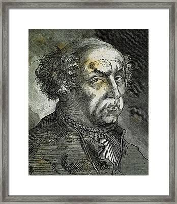 Paracelsus (theophrastus Philippus Framed Print by Prisma Archivo