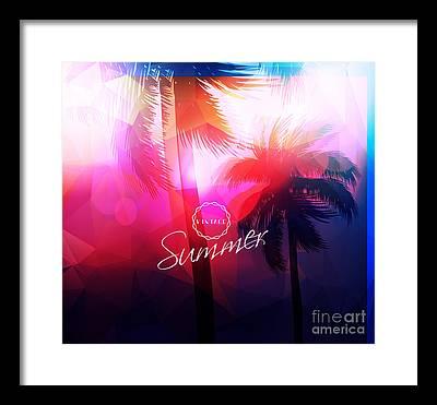 Sunray Framed Prints