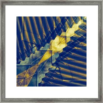 Parallel Worlds Framed Print