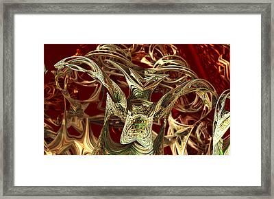 Parasite Framed Print