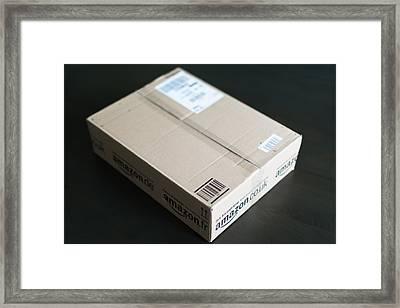Parcel Waiting At Home Framed Print by Frank Gaertner